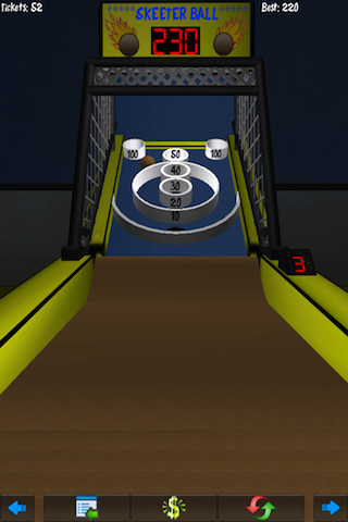 Screenshot Skeeter Ball 3D – FREE