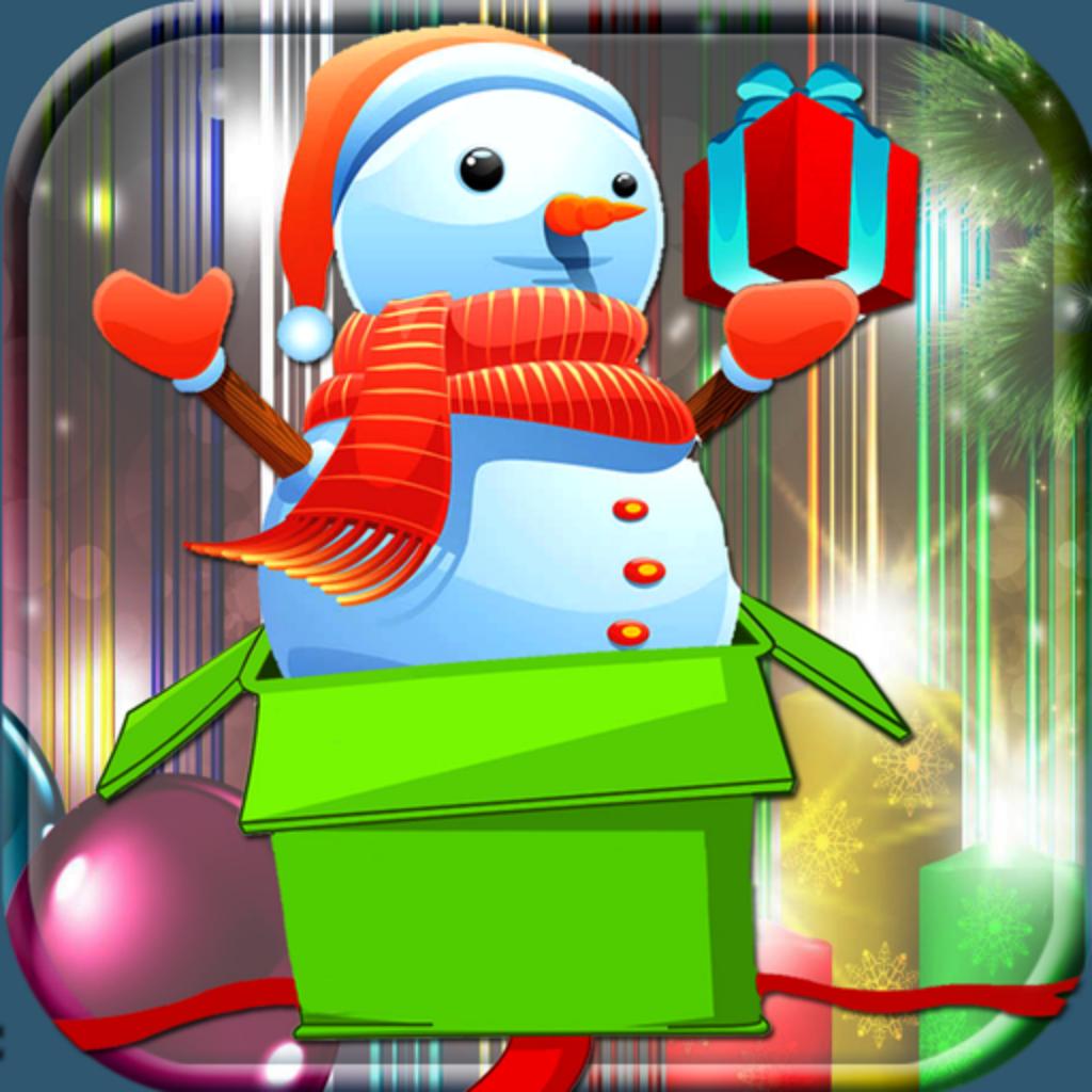 Winter Jolly Click: Snowman, Santa and Snow Maiden Popup
